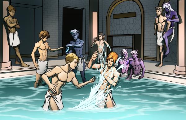 Dragon Prince Bath House