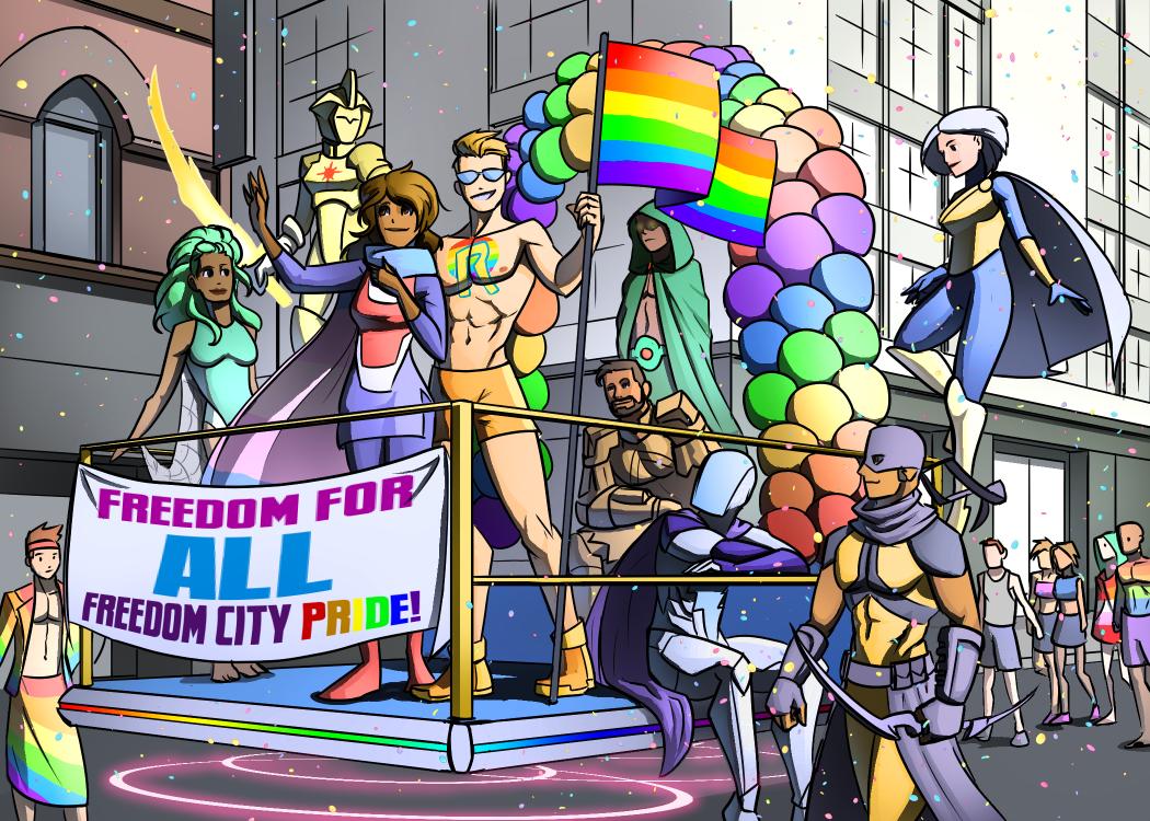 Freedom City Pride Parade
