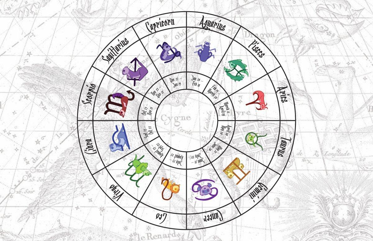 Zodiac Ferrets Calendar